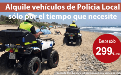 JUMA aumenta su flota de alquiler de vehículos de emergencias para la campaña de verano