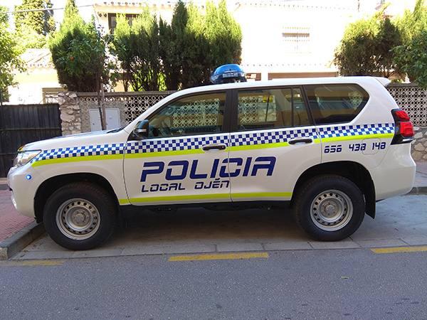 La Policía Local de Ojén confía en JUMA para la transformación de su nuevo vehículo de intervención