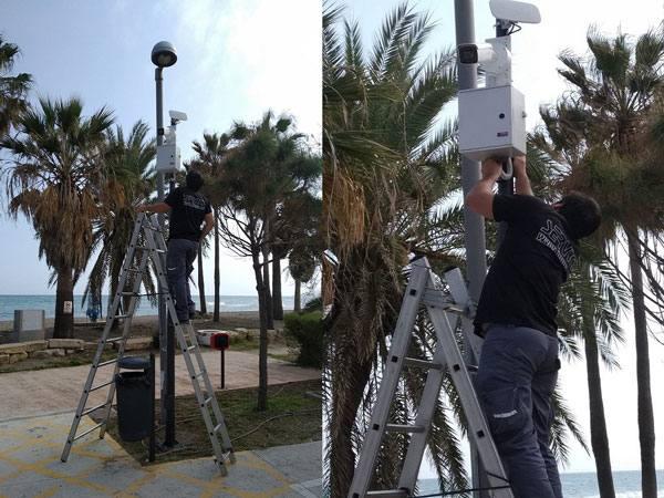 El Ayuntamiento de Casares refuerza su seguridad con la instalación de 10 cámaras de videovigilancia