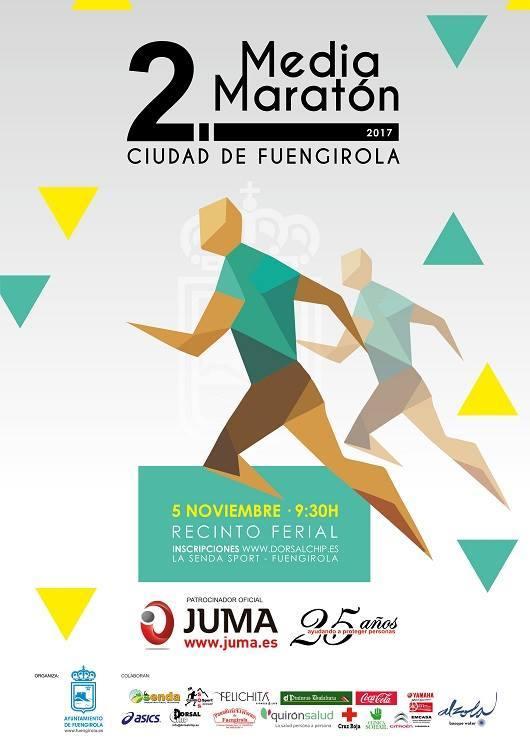 JUMA patrocina la segunda media maratón Ciudad de Fuengirola