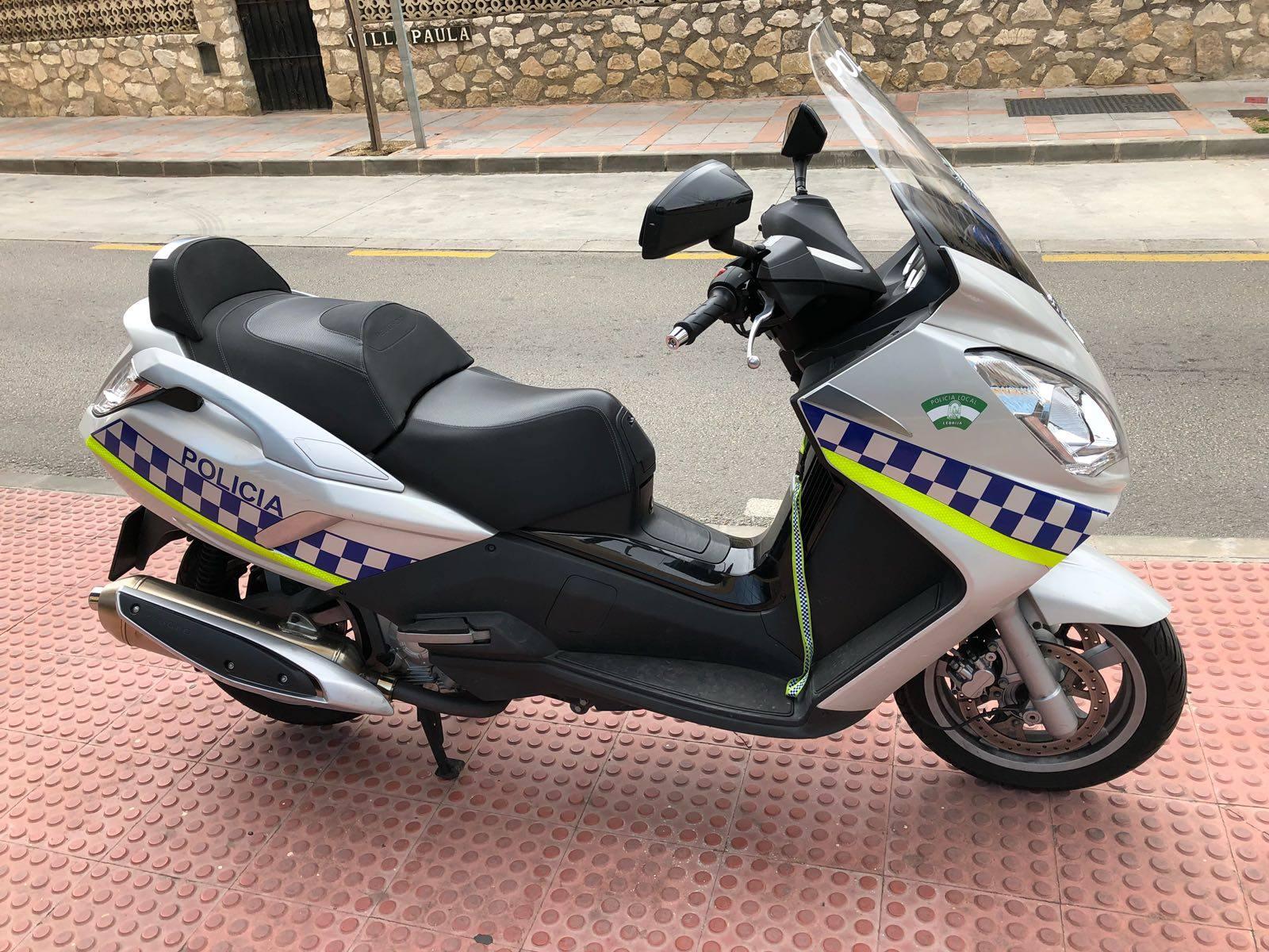 Alquiler motos policia local lebrija