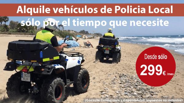 Alquiler vehículos emergencias