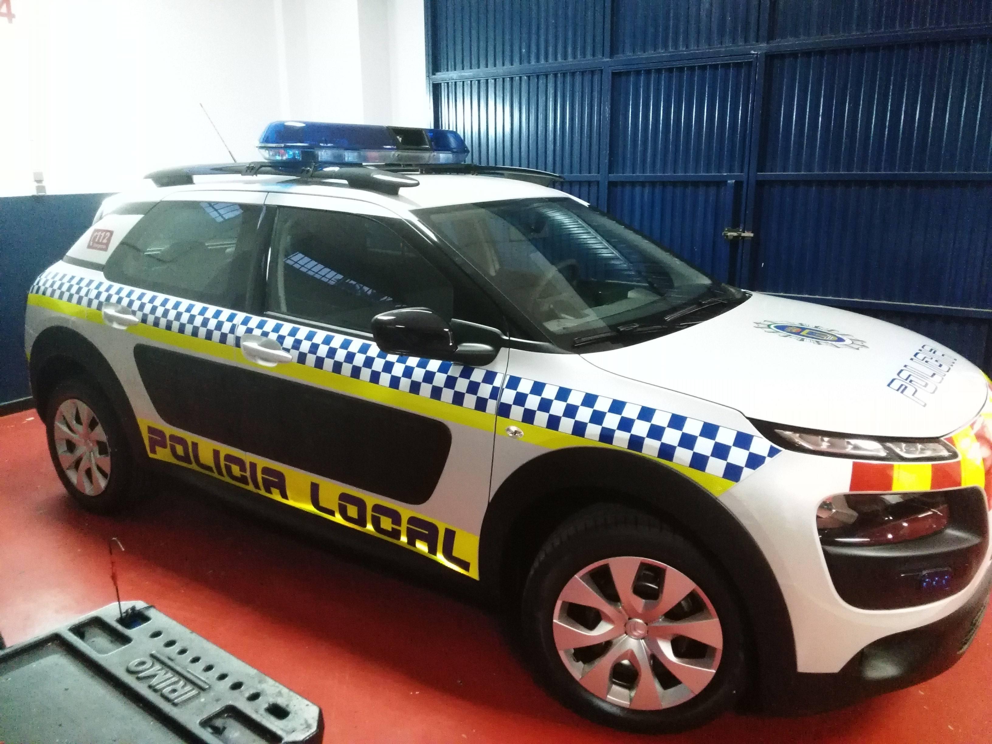 Alquiler vehiculos policia local Chipiona
