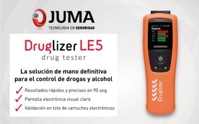 JUMA lanza la solución definitiva para los test de drogas: Druglizer