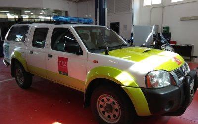 JUMA adapta los vehículos de Protección Civil de la Junta de Andalucía a la nueva normativa