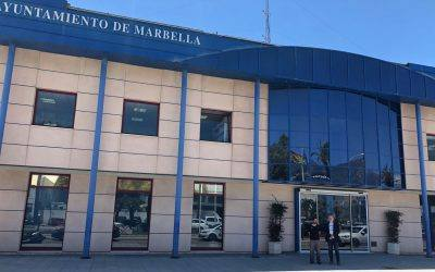 JUMA forma a la Policía Local de Marbella para el uso de las cámaras de videovigilancia Digital Ally