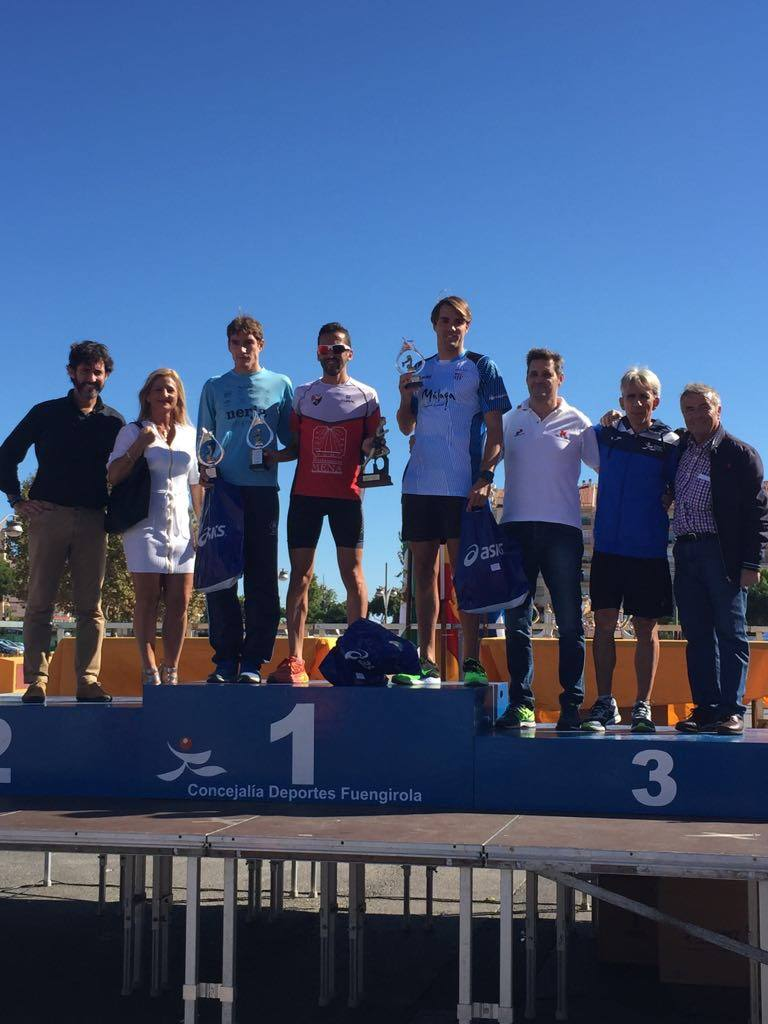 Entrega de premios segunda media maratón Ciudad de Fuengirola