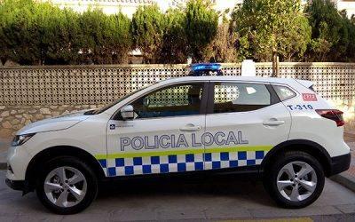 Equipamiento y transformación de los nuevos vehículos de la Policía Local de la Línea de la Concepción