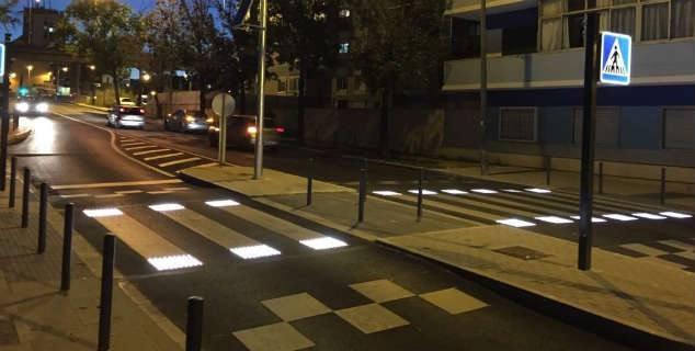 Pasos peatones inteligentes