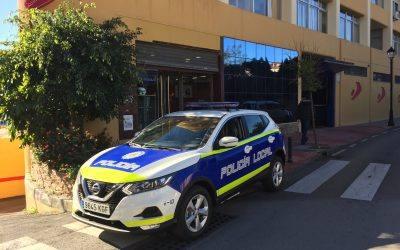 Juma entrega los 3 nuevos vehículos de la Policía Local de El Ejido