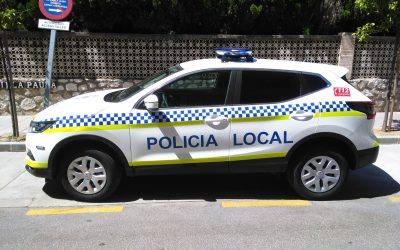 Entrega de nuevos vehículos para la Policía Local de Benahavis