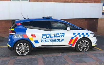 Juma transforma los nuevos vehículos de la Policía Local de Fuengirola