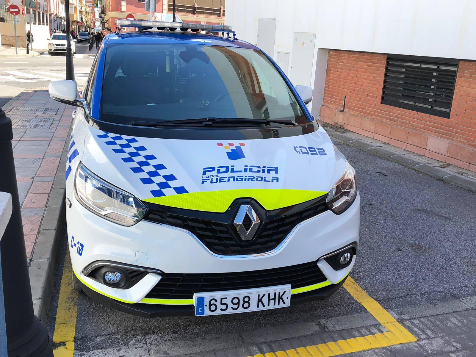 Transformación vehículos Policia Local Fuengirola 2018
