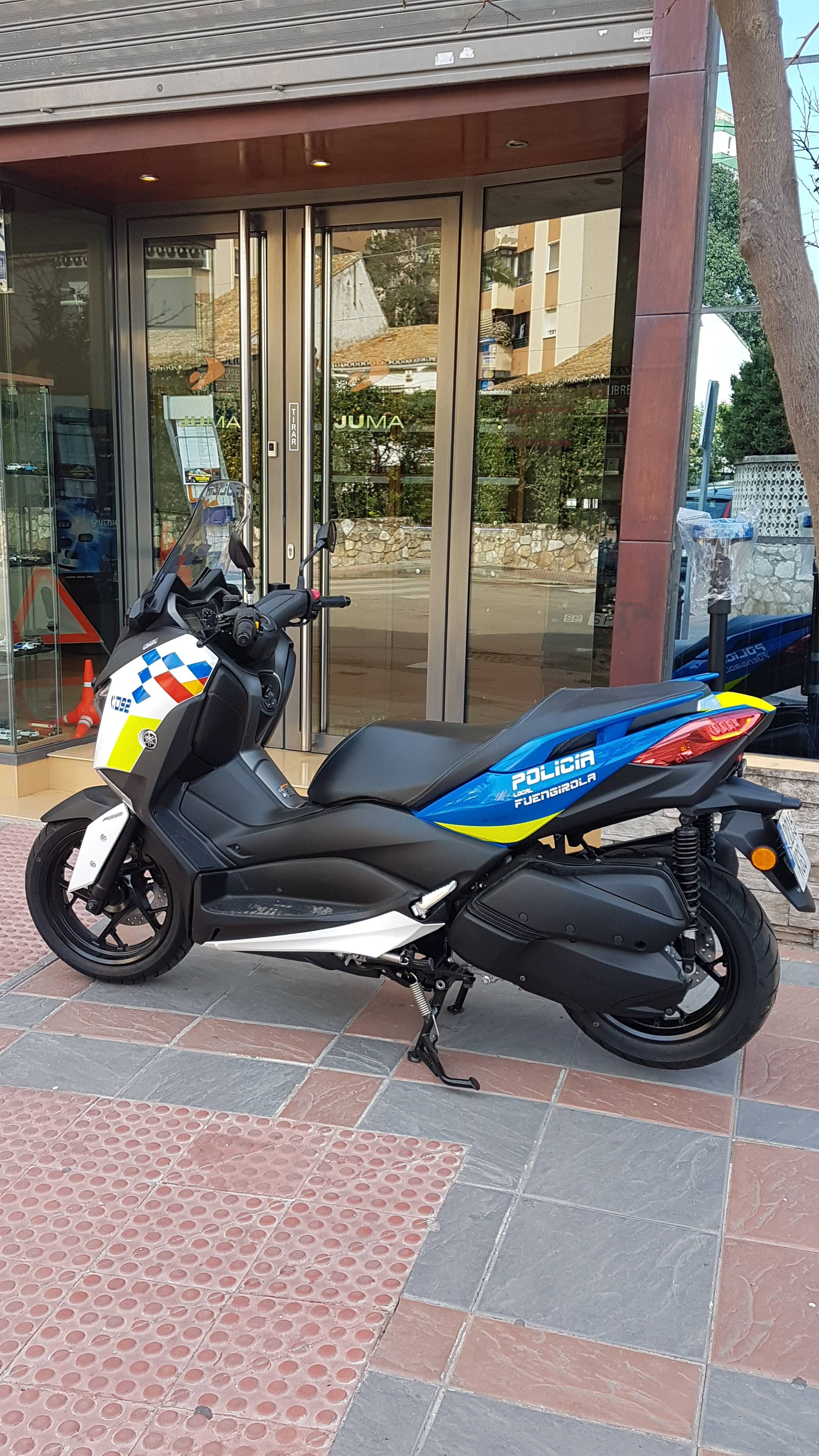 Transformación motos Policia Local Fuengirola 2018