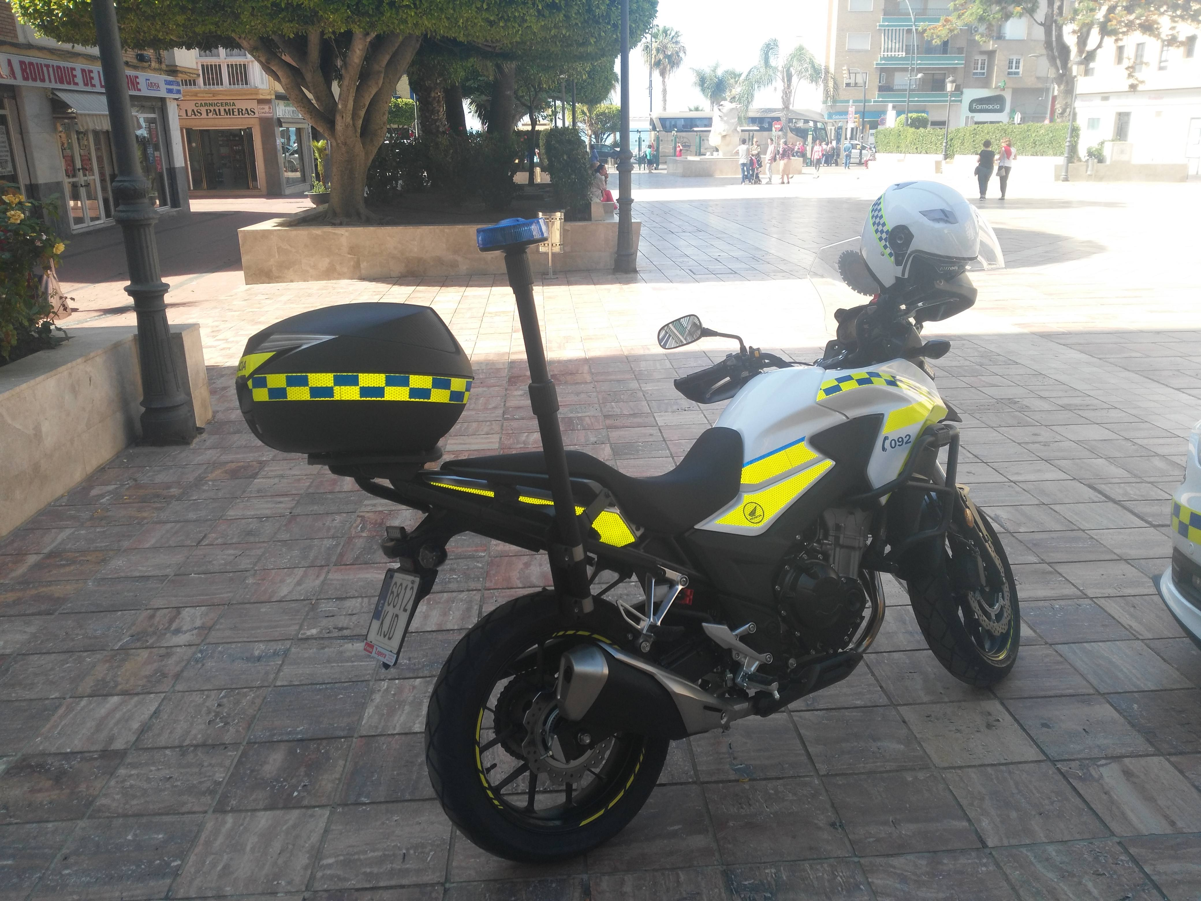 vehículos Policía Local Rincón de la Victoria