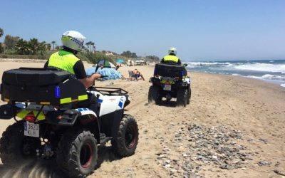 JUMA alquila cuatro quads a la Policía Local de Marbella