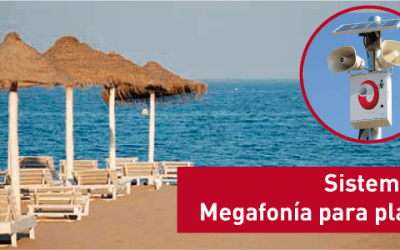 Renovamos el sistema de megafonía en playas de Fuengirola