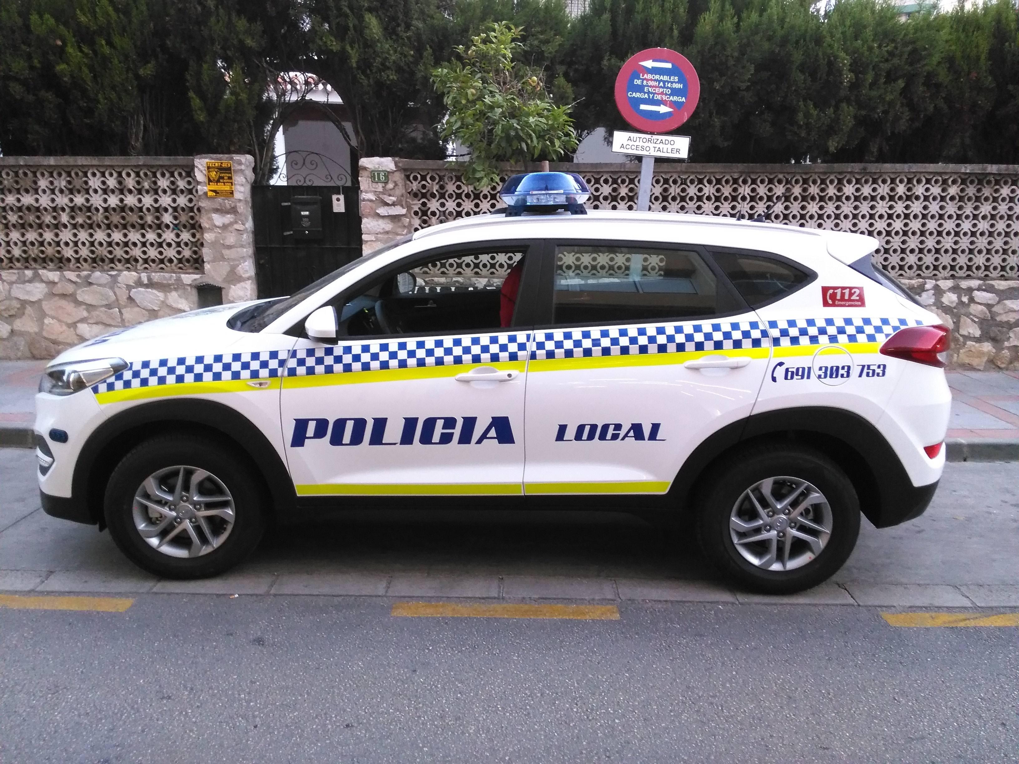Transformación vehículo Policía Local
