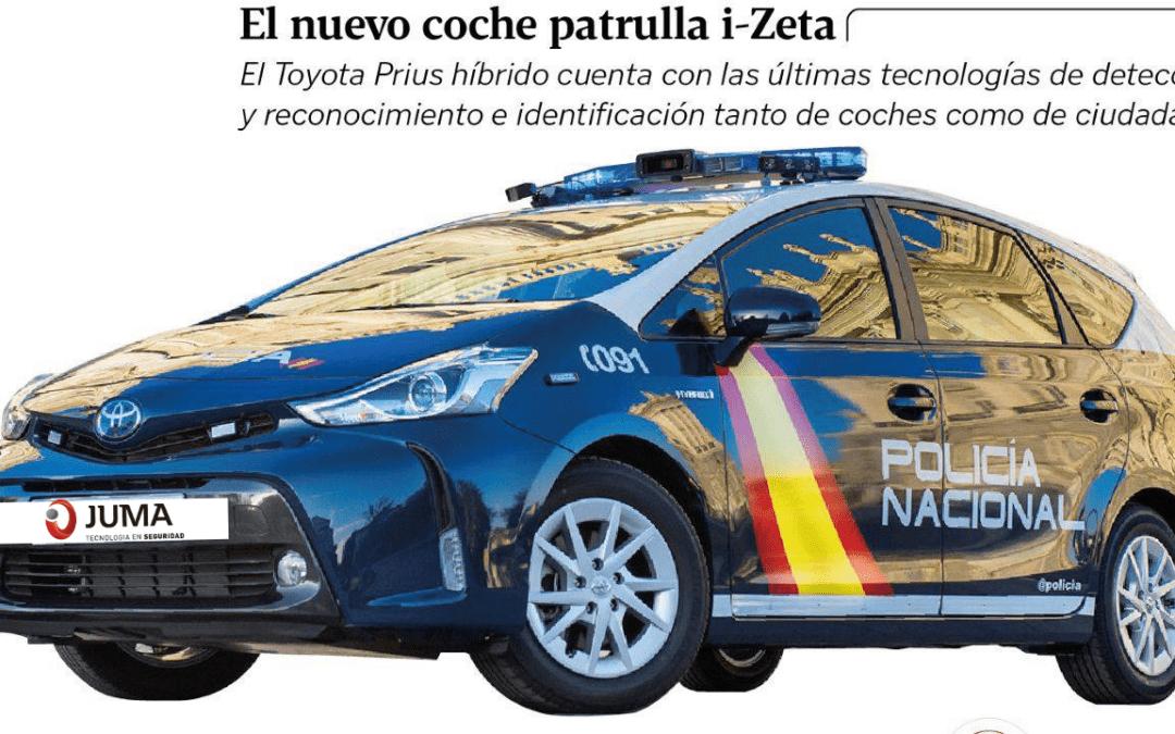 Nuevos coches patrulla, más inteligentes