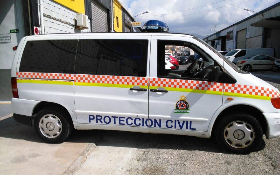 Vehículo para Protección Civil de Algeciras.