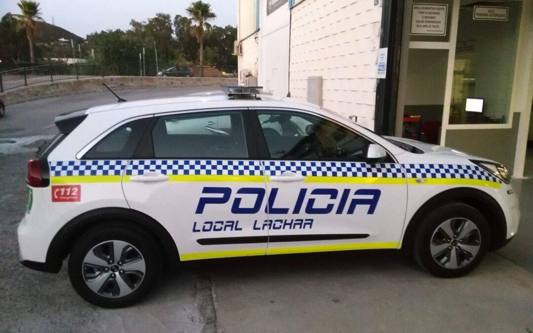 Nuevo vehículo para la Policía Local del Ayuntamiento de Láchar