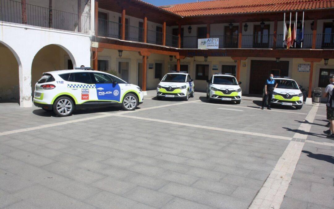 4 nuevos vehículos para la Policía Local de Pinto