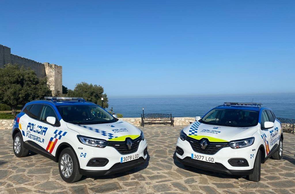 La Policía Local de Fuengirola transforma dos vehículos con JUMA