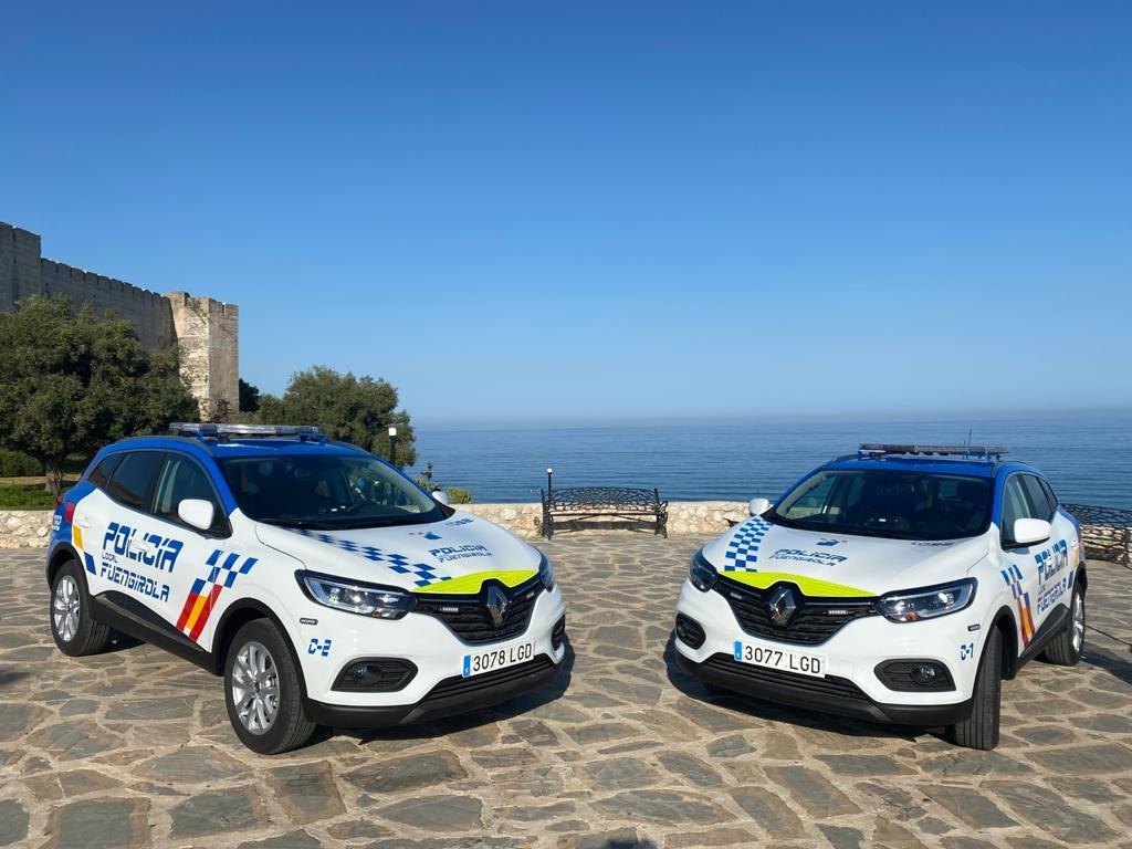 Policia local Fuengirola transformación vehiculos