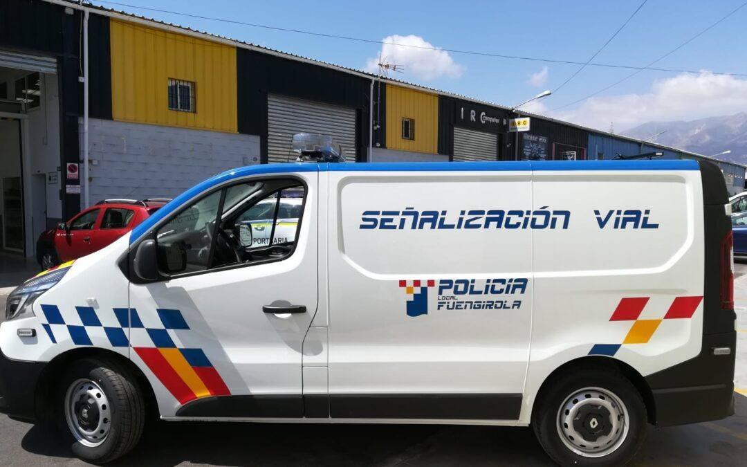 Vehículo de Señalización Vial para la Policía Local de Fuengirola