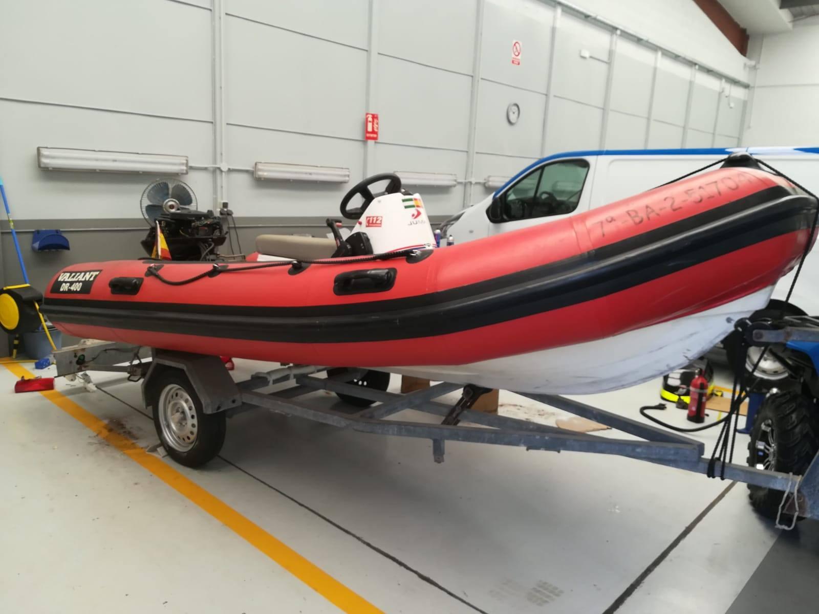 Forgeser barca de salvamento Estepona