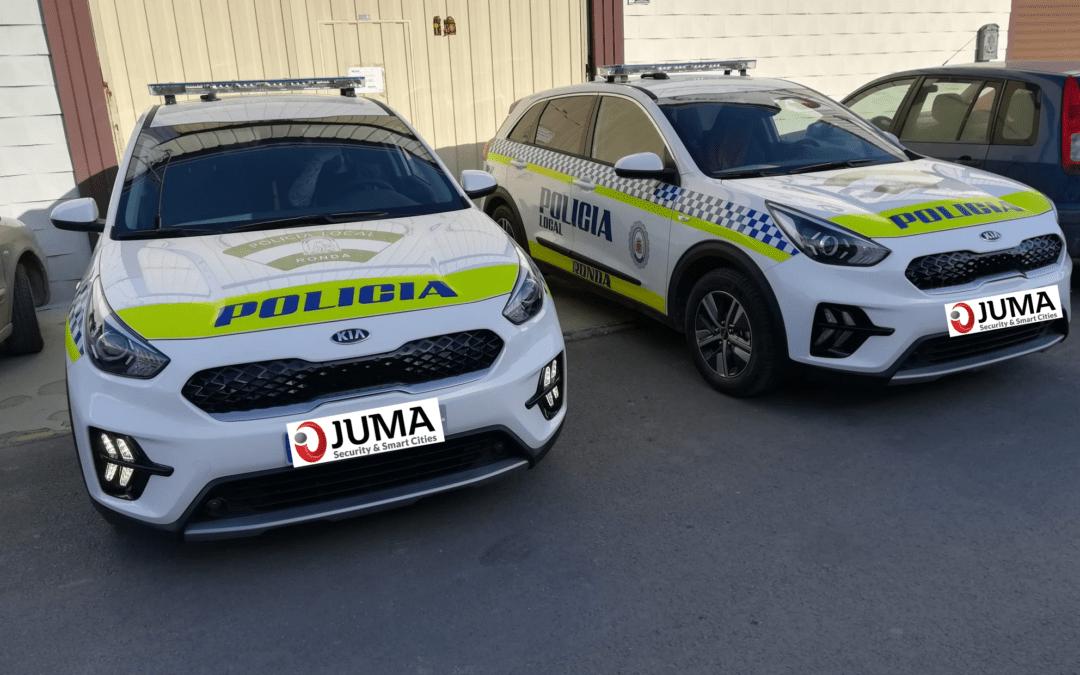 Alquiler de vehículos para la Policía local de Ronda.