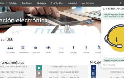 Lanzamiento de Arminda, el Asistente virtual del Cabildo de Gran Canaria