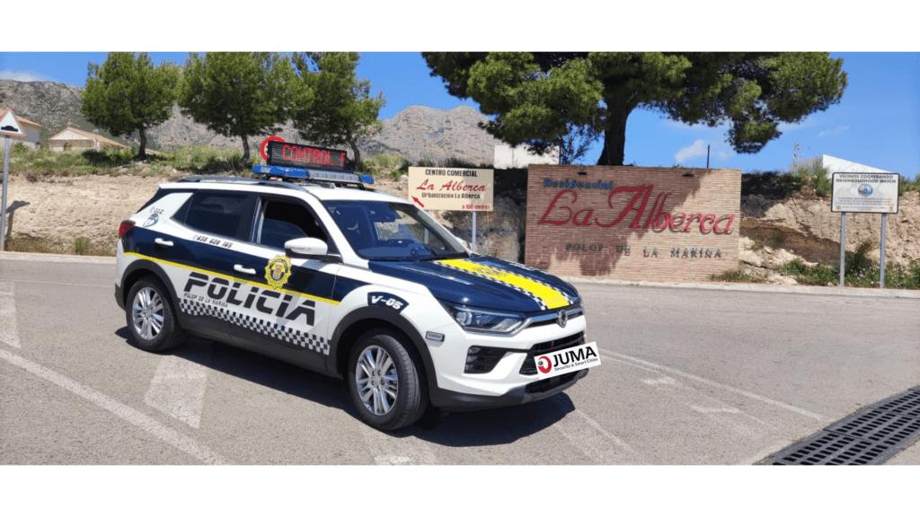 Vehículo para la Policía Local de Polop de la Marina