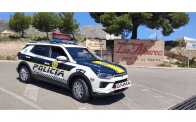 Nuevo vehículo para la Policía Local de Polop de la Marina
