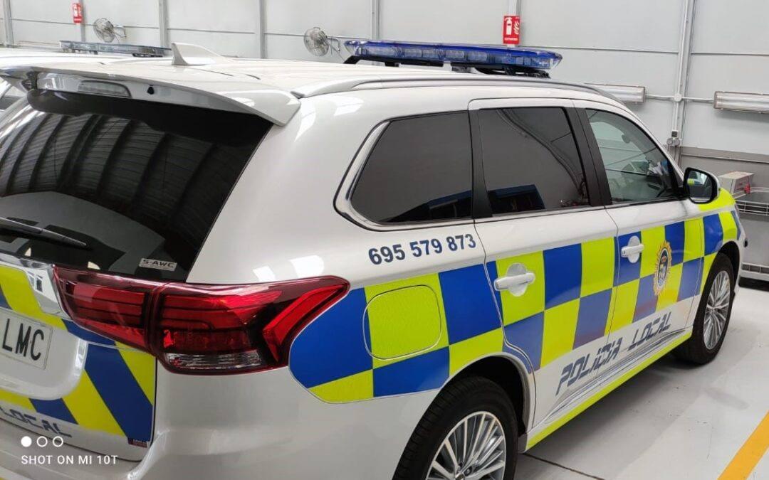 Policía Local de Almargen ha adquirido nuevo vehículo