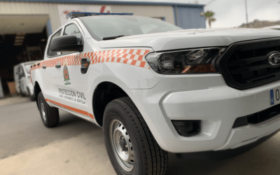 Nuevo vehículo para Protección Civil de Montilla