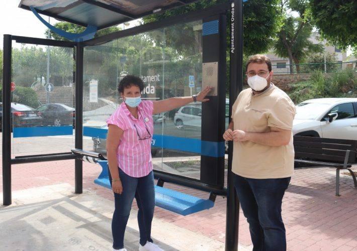 El Ayuntamiento de Onda estrena una parada segura